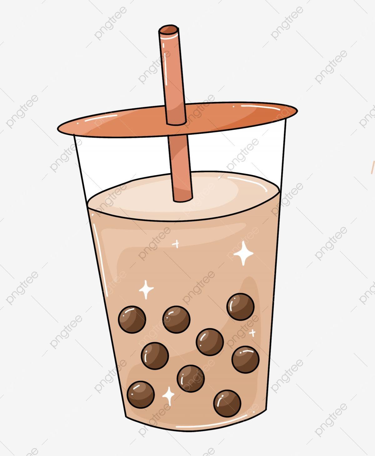 Download This Pearl Milk Tea Illustration Beverage Pearl Milk Tea Delicious Png Clipart Image With Transparent Backg Tea Illustration Milk Tea Tea Wallpaper