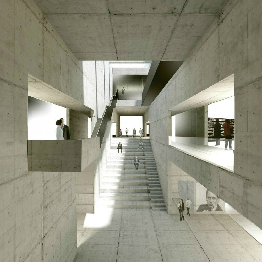 Gallery of new bauhaus museum architekten hrk 2 for Bauhaus iluminacion interior