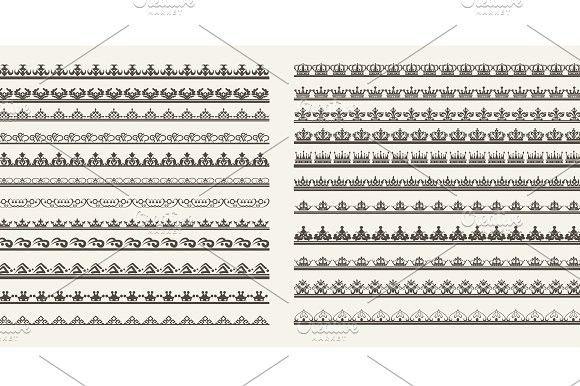 Borders. Vector illustration . Certificate Templates