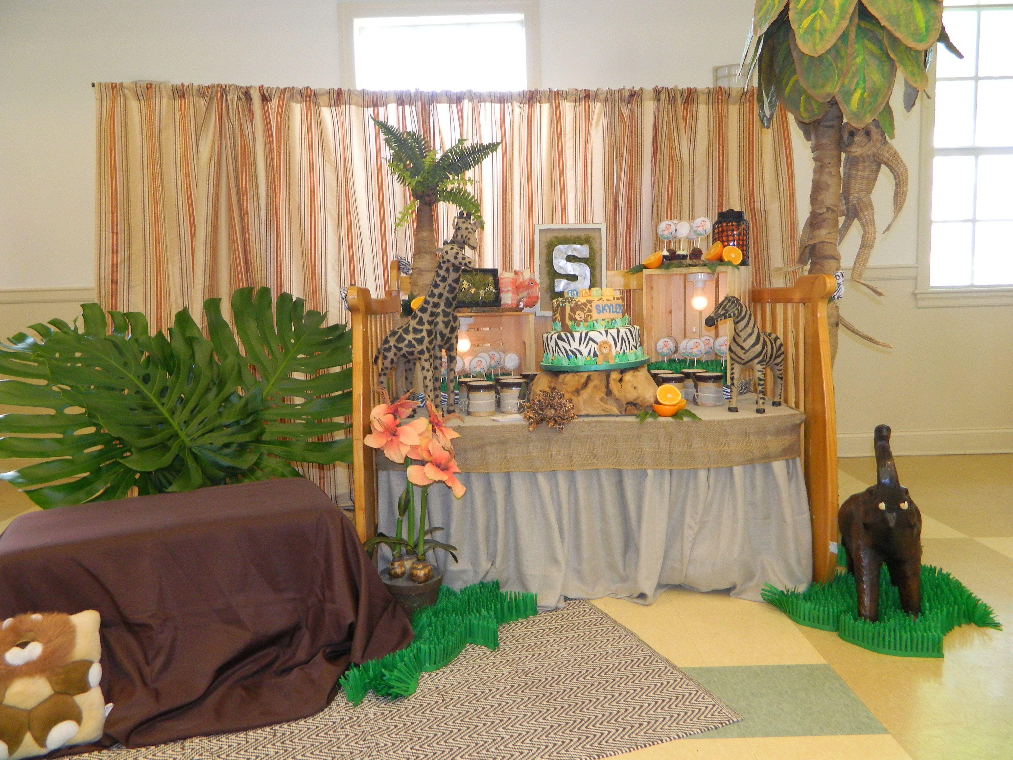 Baby Tarzan/Safari Theme Shower... | AV Design and Events - Our ...