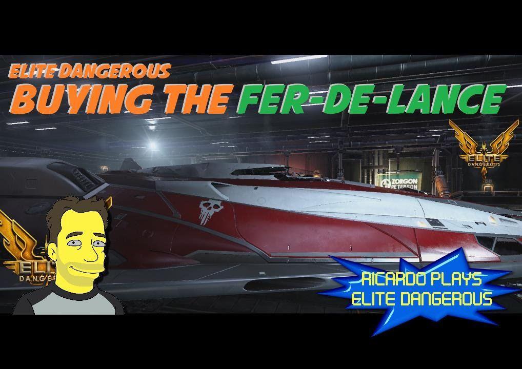 Buying the Fer-de-lance in Frontier's Elite:Dangerous | Elite