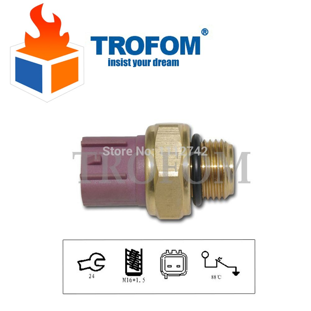 Engine Cooling Radiator Fan Temperature Switch Sensor For Suzuki