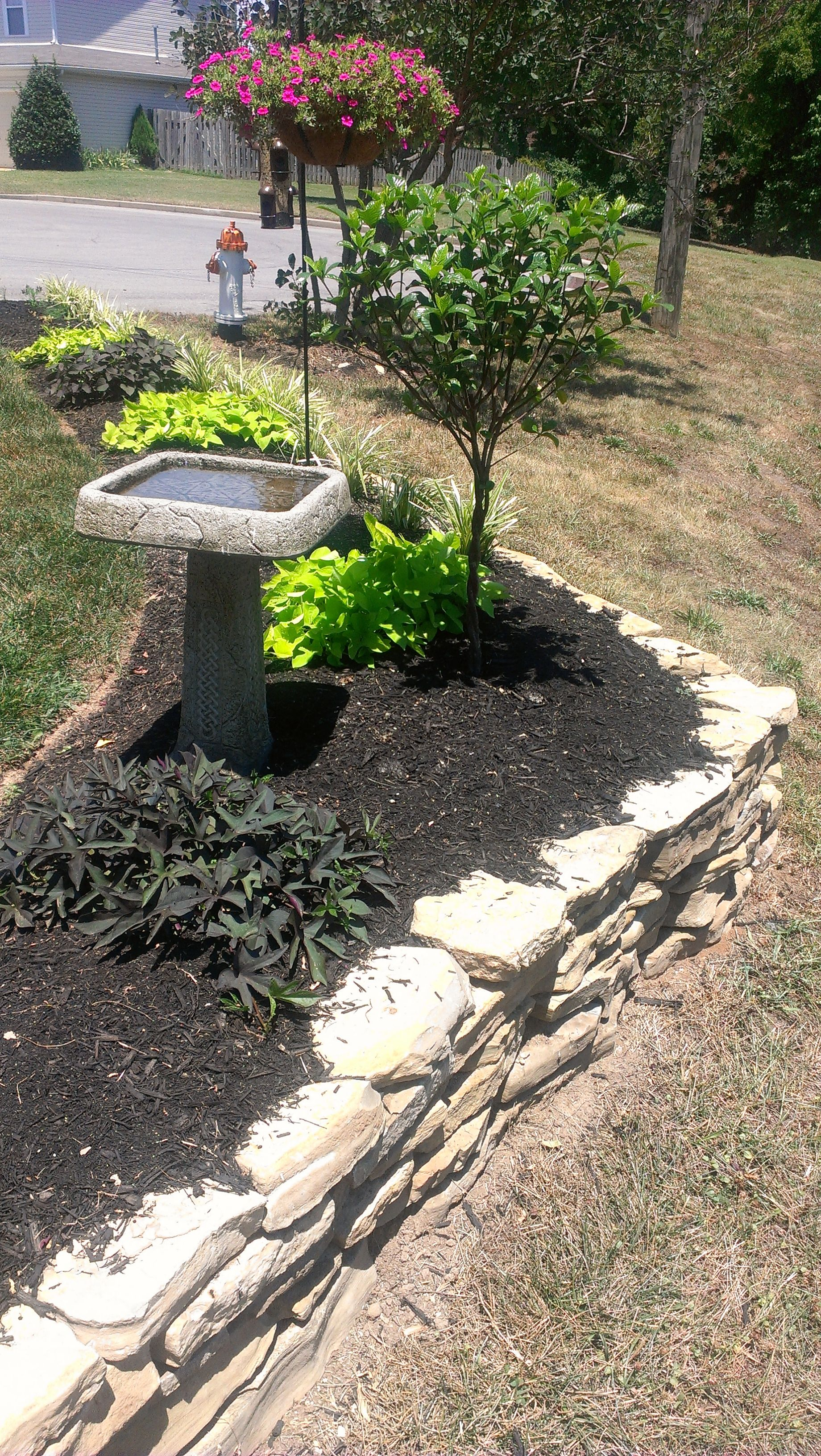 Tennessee Rock Planter  My Front Yard, Designed By Kirk And