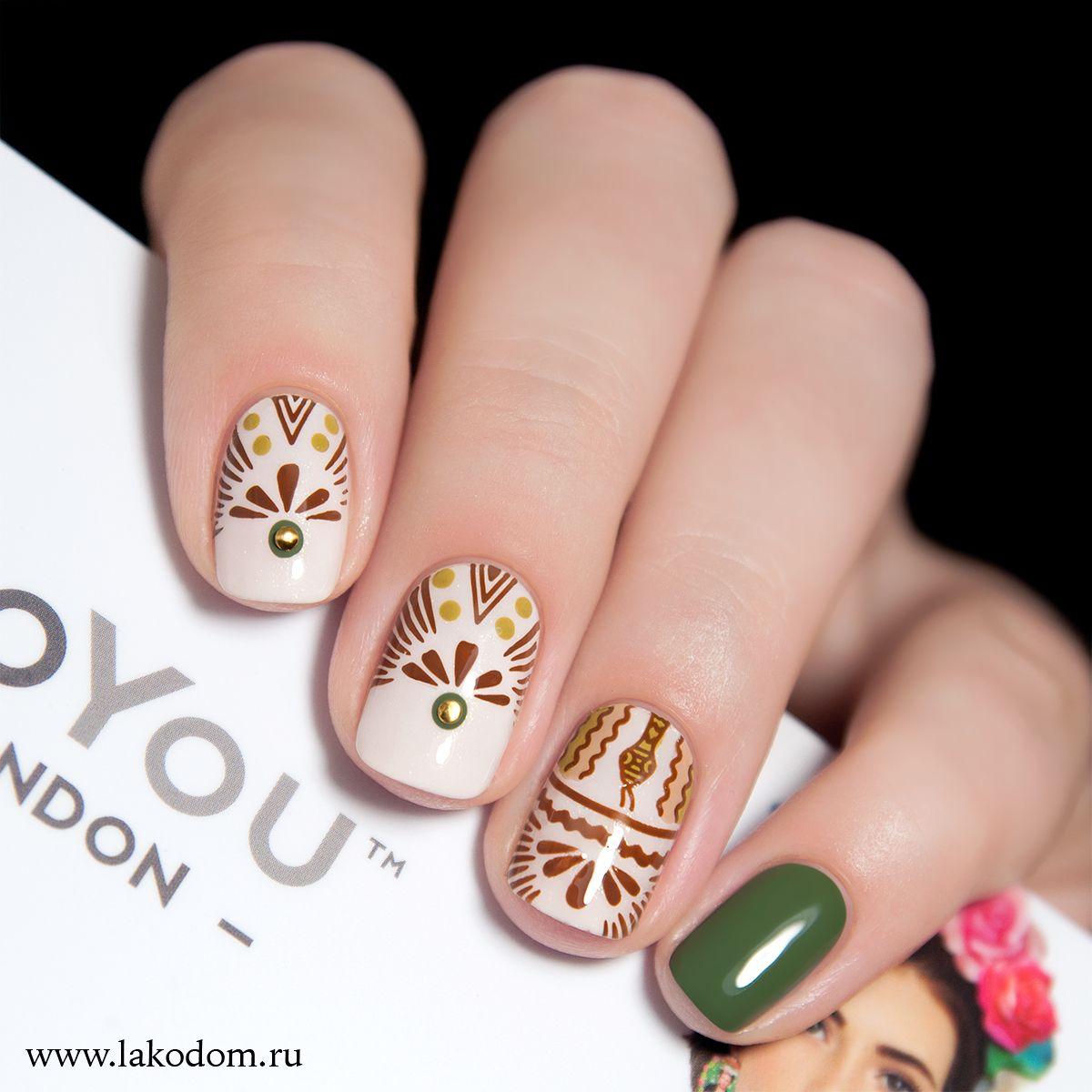 Mexico 04 | nayls | Pinterest | Diseños de uñas, Decoración de uñas ...