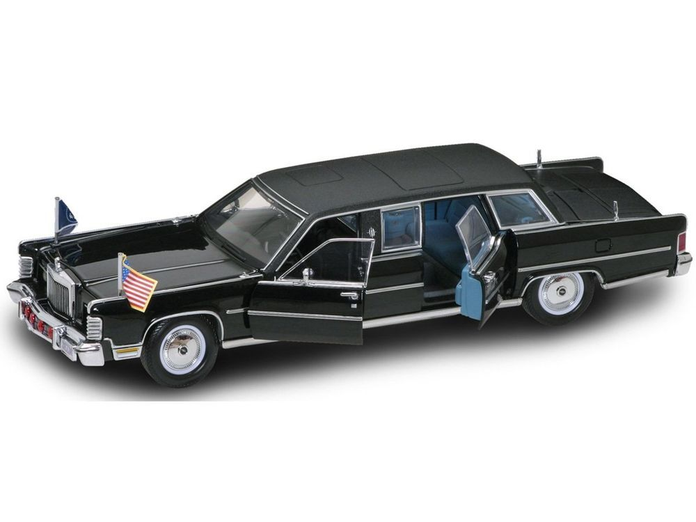 Yat Ming Scale 1 24 1972 Lincoln Continental Reagan Car Yatming