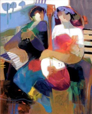 """Something Special""  by Hessam Abrishami 30"" x 24"""