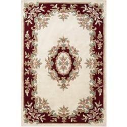 Teppich Clarinda aus Wolle in CremeWayfair.de #flowerfabric
