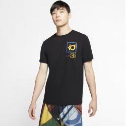 Nike Dri-fit Kd Basketball-T-Shirt für Herren – Schwarz Nike