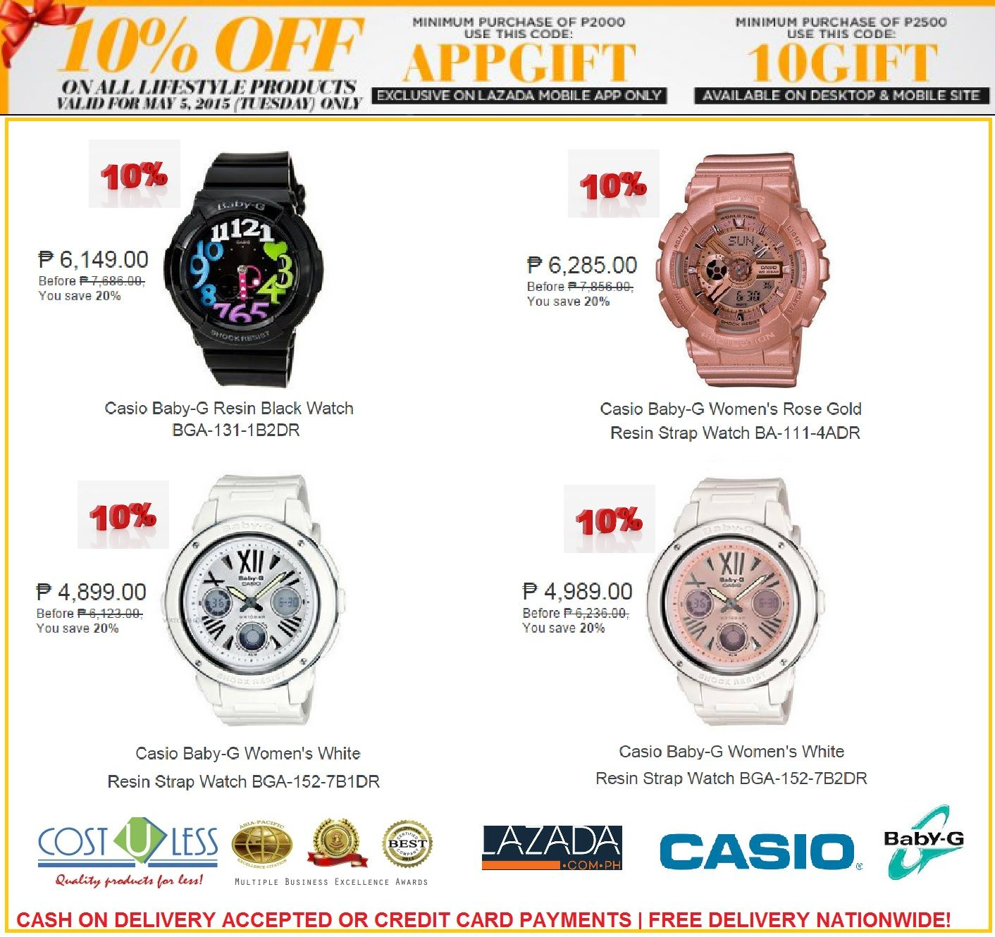 Original Casio Watches Sale Lazada Shop Online Tuesday Promo Take Camera Circuit Board Promotiononline Shopping For Promotional 10 Off