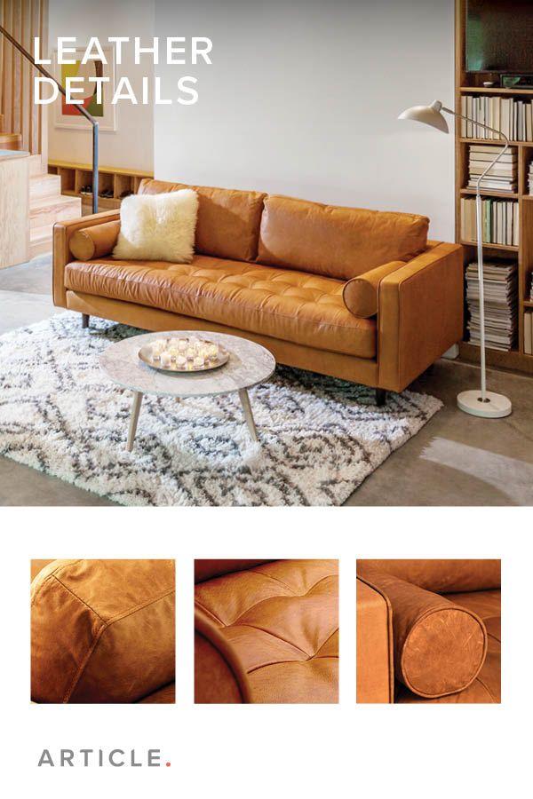 Sven Charme Tan Sofa | home | Home decor, Living room decor ...