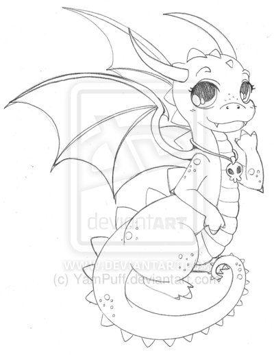 Baby Dragon Cute Dragon Drawing Easy Dragon Drawings Dragon Drawing