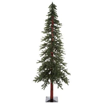 7 green alpine christmas tree with lights hobby lobby - Christmas Tree Hobby Lobby