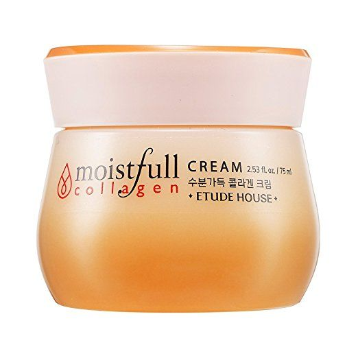 Etude House Moistfull Collagen Cream 75ml 2 53 Ounce Etude House Moistfull Collagen Moistfull Collagen Collagen Face Cream