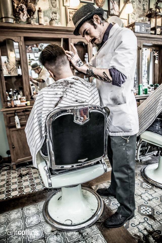 fashioned mens barber shop - 641×960
