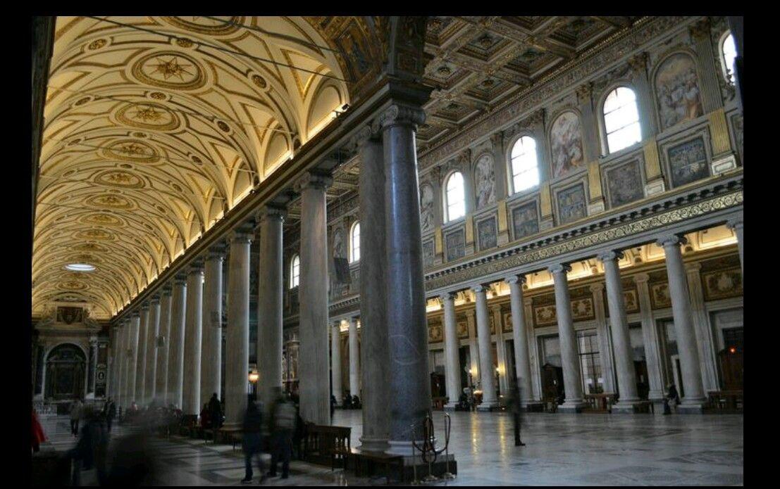 Interno della basilica di santa maria maggiore a roma for Interno 5 b b roma