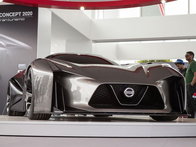 Nissan Concept 2020 Vision Gran Turismo Is The Darling Of Goodwood Nissan Nissan Gt R Car
