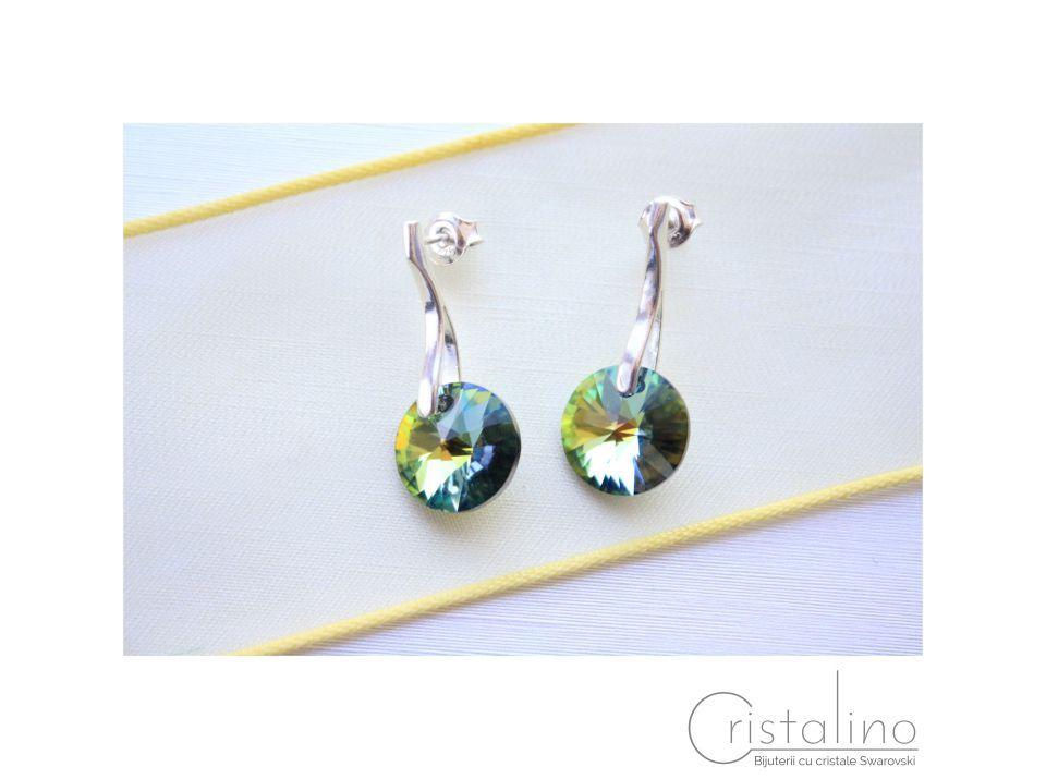 55 LEI   Cercei handmade   Cumpara online cu livrare nationala, din . Mai multe Bijuterii in magazinul Cristalino pe Breslo.