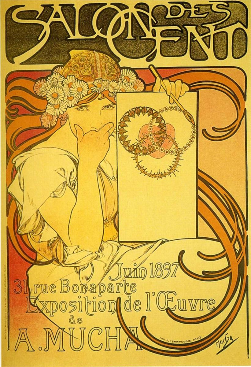 Soap factory of Bagnolet - Alphonse Mucha - WikiPaintings.org
