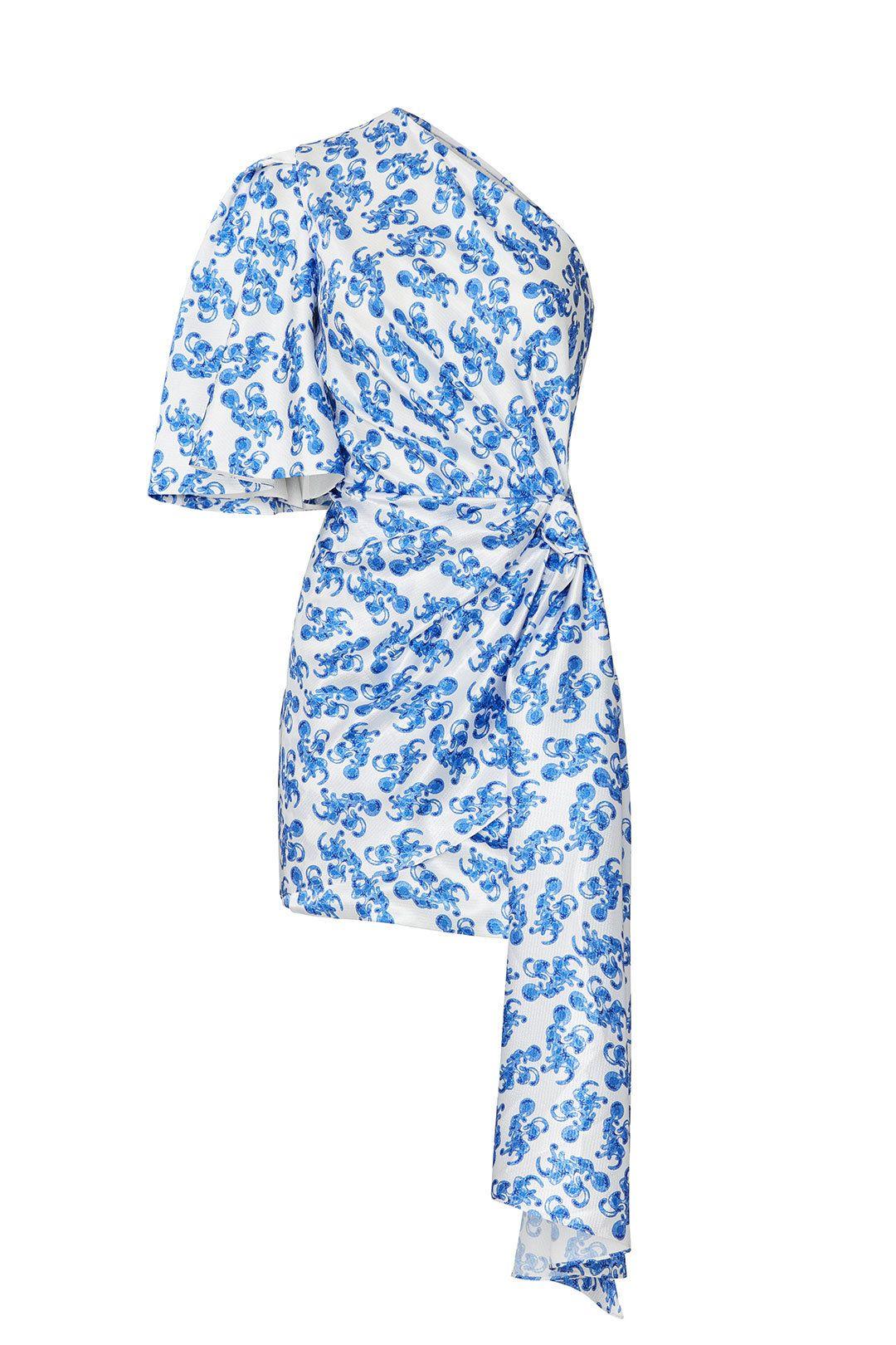Solace London Printed Marcie Dress Dresses London Print Solace London
