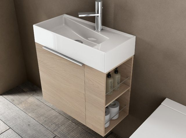 Idea Group-Petit Meuble Avec Rangements Pour Petite Salle De Bains - prise de courant dans salle de bain
