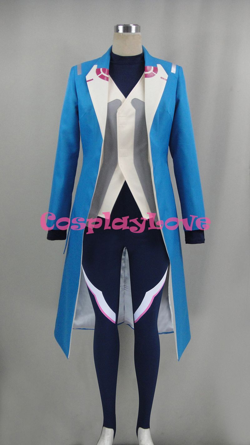 Click to Buy ucuc Pokemon Go Team Mystic Blanche Cosplay Costume