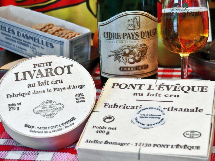 Prominente Käsesorten: Camembert, Livarot und Pont l'Evêque stammen alle aus...