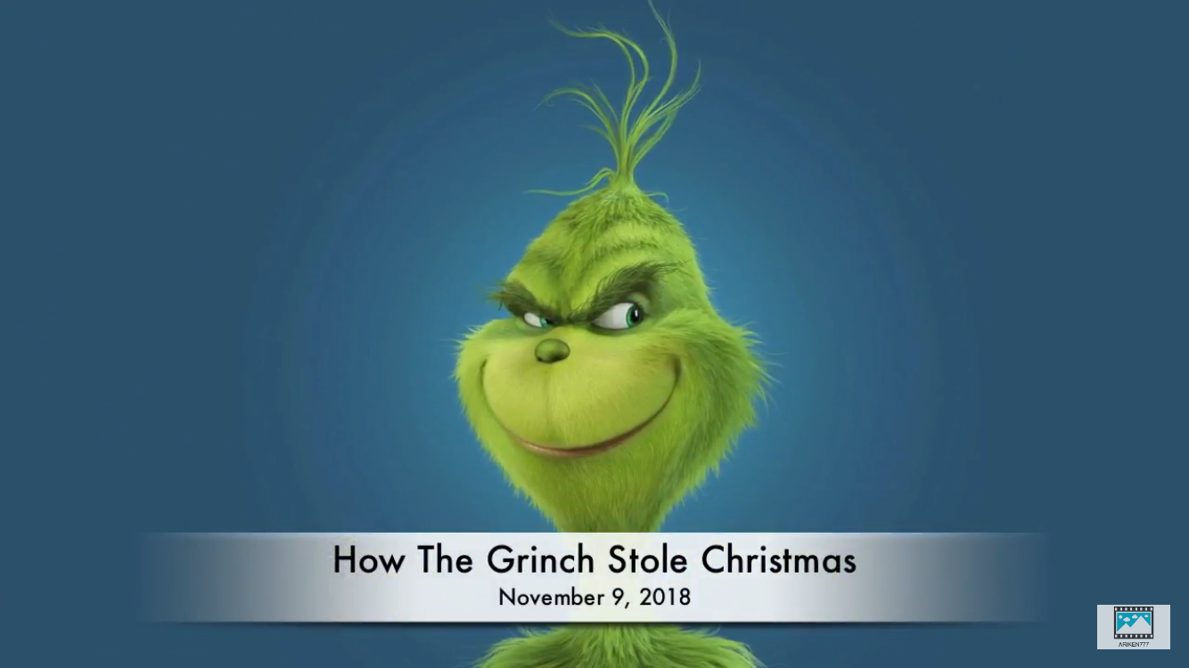 How The Grinch Stole Christmas   Upcoming 2018 Kids Movies ...