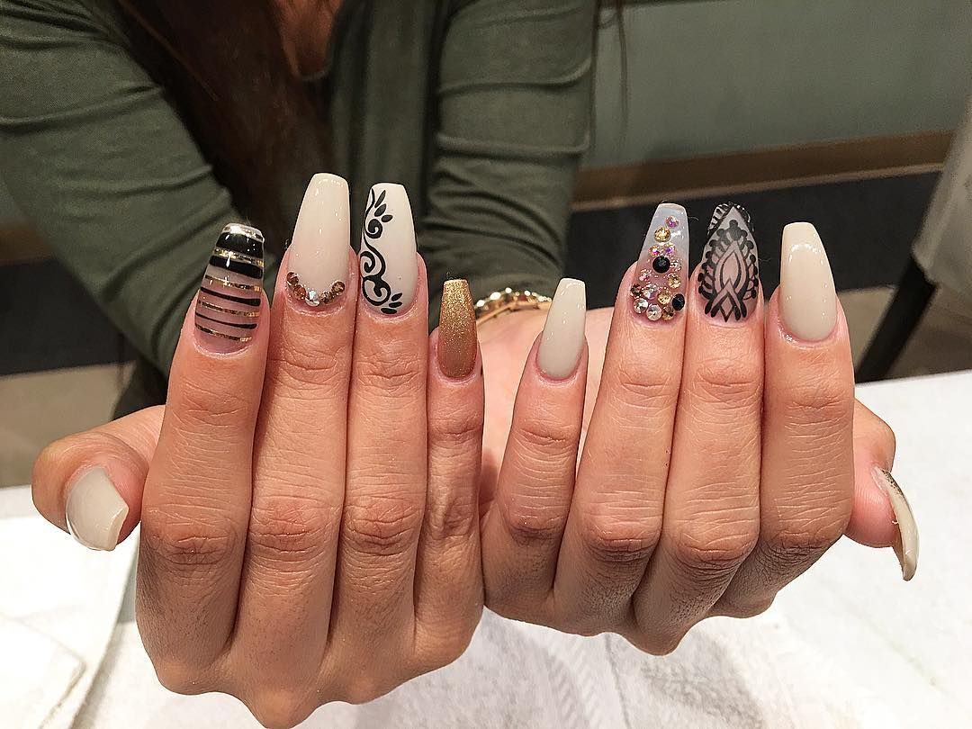 Pin by Mix\'d princess on Super cute nails | Pinterest