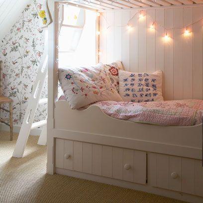 Fairy Lights Bunkbed Girls Bedroom Home Childrens Rooms - Fairy lights childrens bedroom