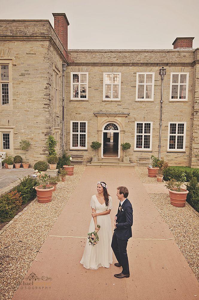 Shilstone House wedding walled garden in Devon Wedding