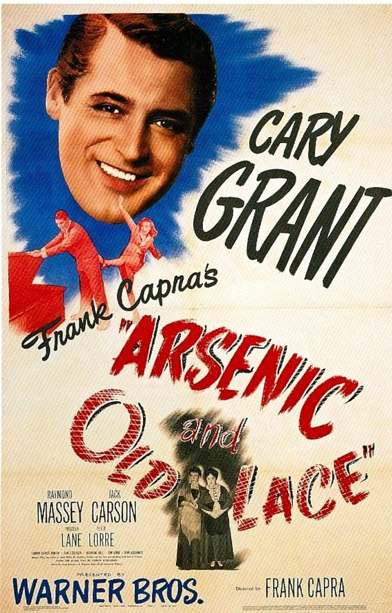 Arsenic And Old Lace About time movie, Cary grant