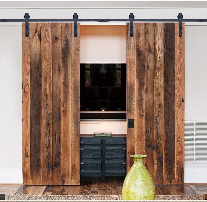 Pin By Natalia Arambula On Power Tool Storage In 2020 Brick Exterior House Sliding Door Hardware Barn Door