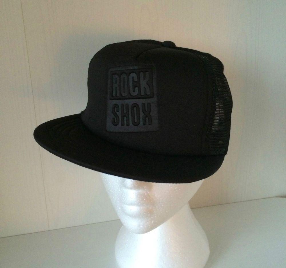 39c94475978dfd Rock Shox Black Hat Snapback Cap Trucker Mtb Mountain Bike Cycling High  Profile #RockShox #BaseballCap