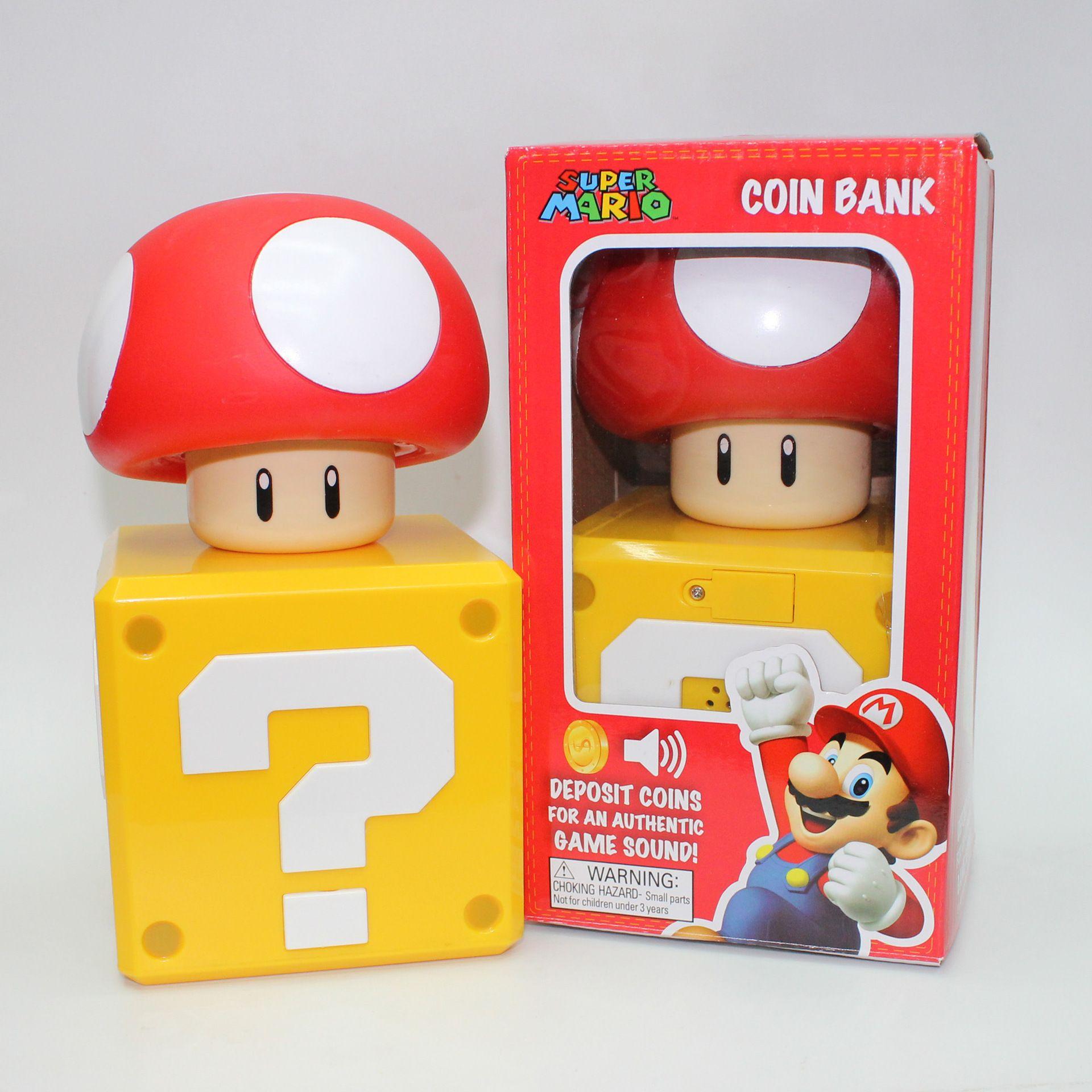 748879a6f3b6 Cheap Super Mario Bros figuras de acción caja de sonido Mario Anime figuras  juguetes calientes Pvc figura de dibujos animados Kid Brinquedo regalo, ...