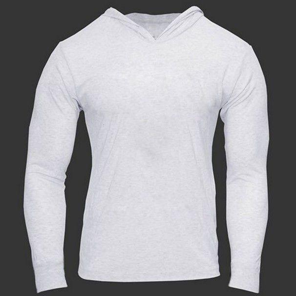 Pánské triko do posilovny s dlouhým rukávem bílé – pánská trika + POŠTOVNÉ  ZDARMA Na tento produkt se vztahuje nejen zajímavá sleva d40ca55d60