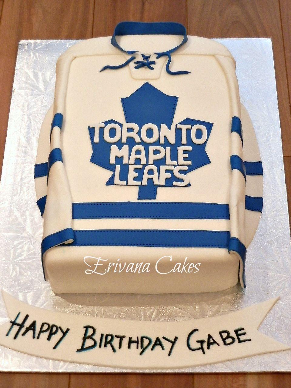 Toronto Maple Leafs Cake Boys Birthday Cakes Pinterest Toronto