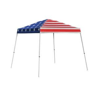 Red White and Blue American Pop-up Canopy #homedepot  sc 1 st  Pinterest & 10 x10 ft. Red White and Blue American Pop-up Canopy #homedepot ...
