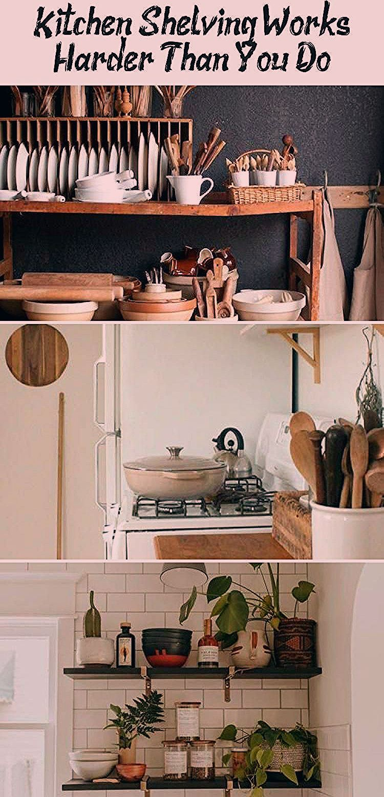 Photo of Kitchen Shelving Works Harder Than You Do – Home Design