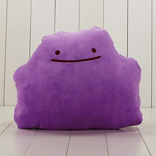 Transforming Ditto Plush from Japan - #90s #anime #blue #cartoons #cute #ditto #funny #gameboy #games #gaming #geek #geekery #gifts #go #kanto #kawaii #let's #lol #merch #nineties #nintendo #nostalgia #plush #pokemon #red #retro #snorlax #switch #toys #video