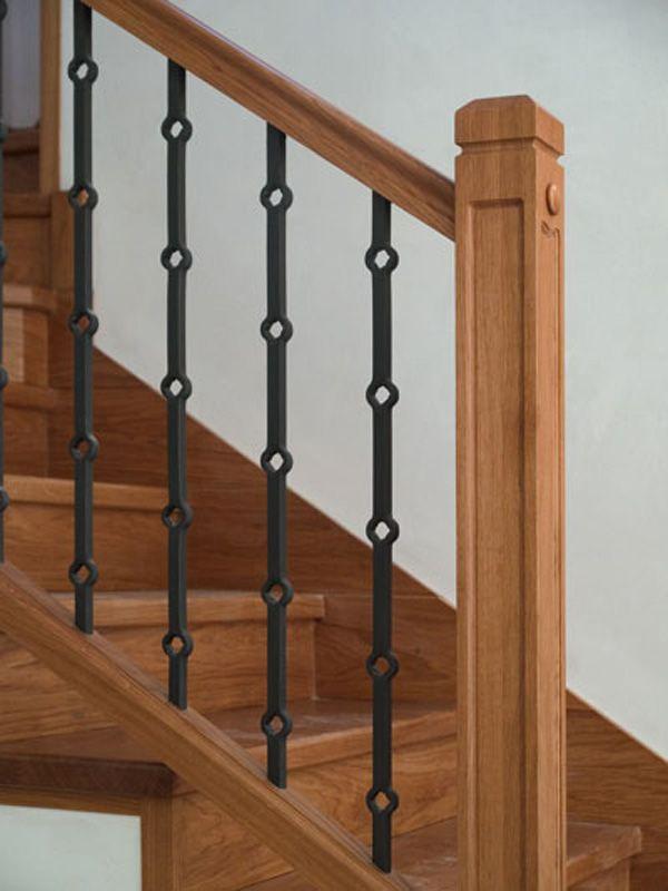 Casa barandillas banos baranda madera pasamanos - Barandillas de hierro ...