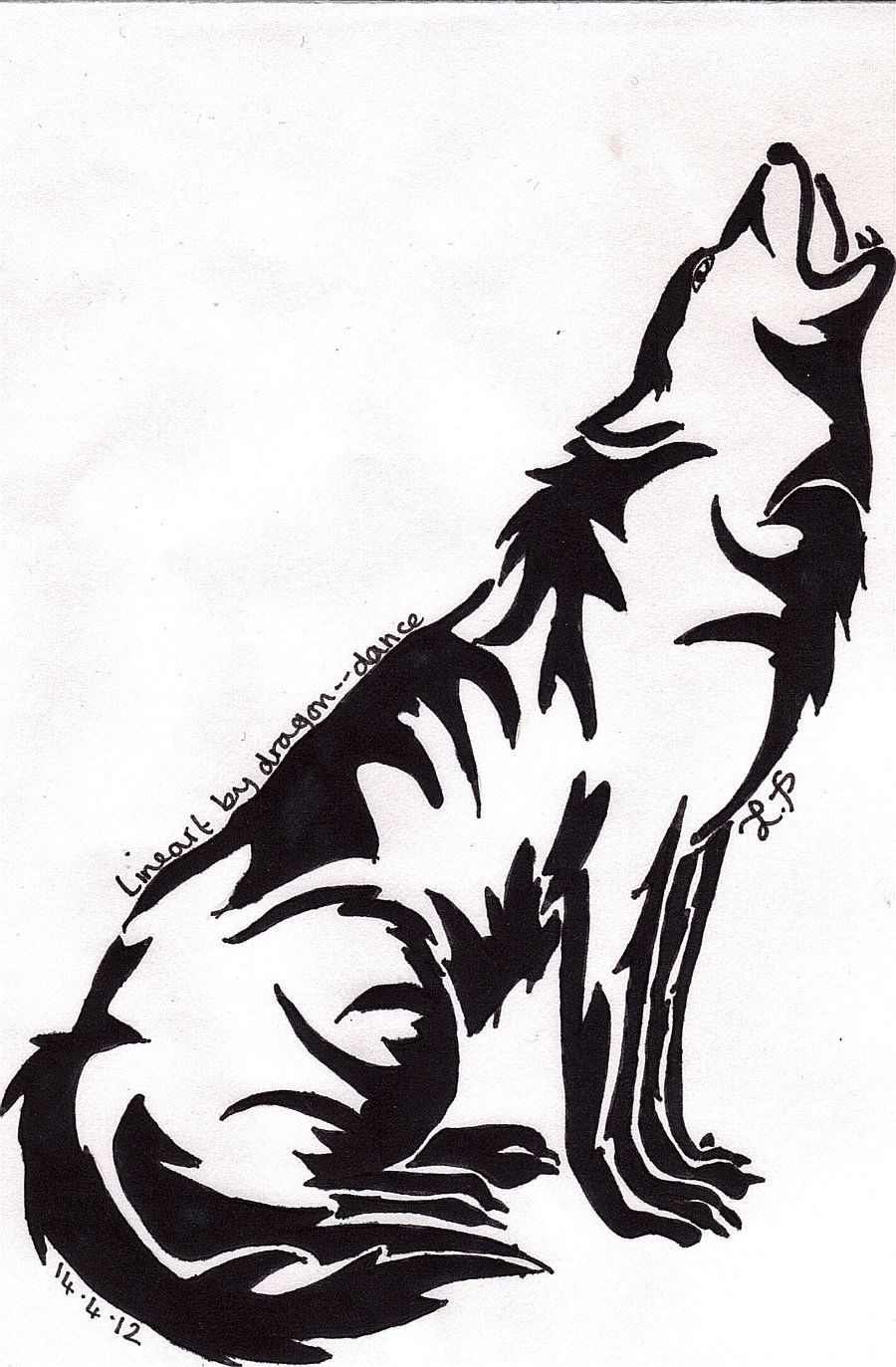 Viewing Gallery For Wolf Howling At The Moon Drawing Moon Drawing Wolf Howling Moon Coloring Pages