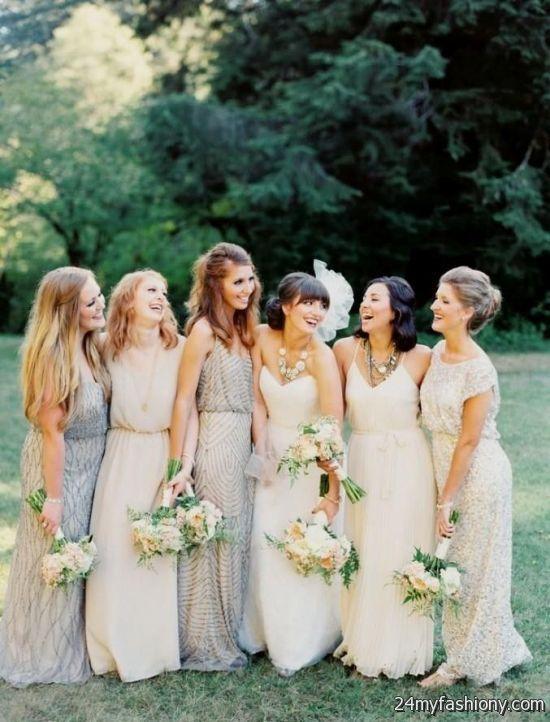 Bohemian Bridesmaid Dresses Diffe Styles