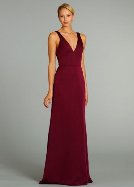 7b05f615983 Jim Hjelm Occasions 5281 ruby red bridesmaid dress...Classic ...