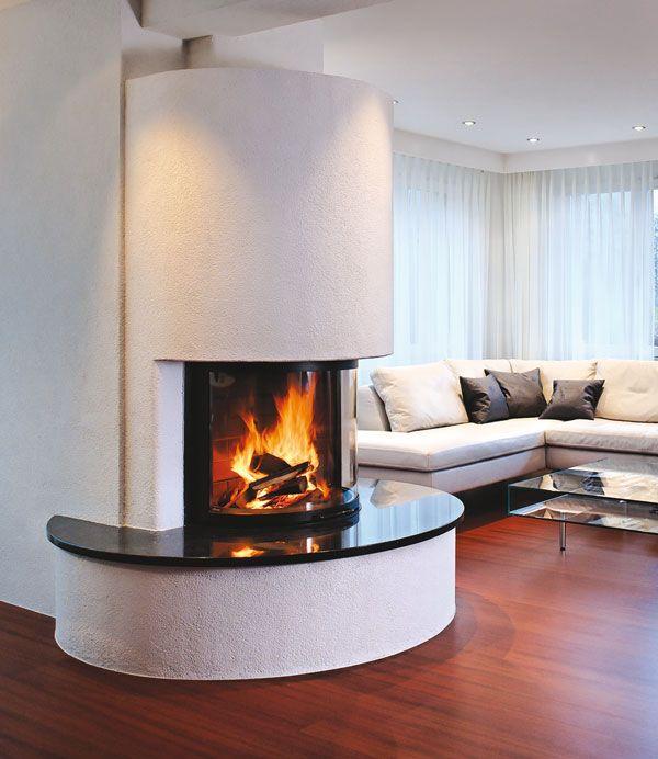 chemin e en ma onnerie blanche tablette en granit noir. Black Bedroom Furniture Sets. Home Design Ideas