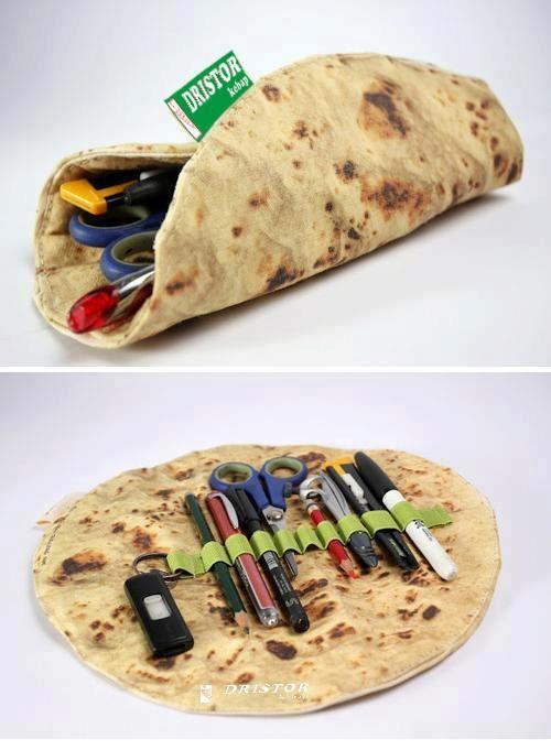 Taco Pencil Case
