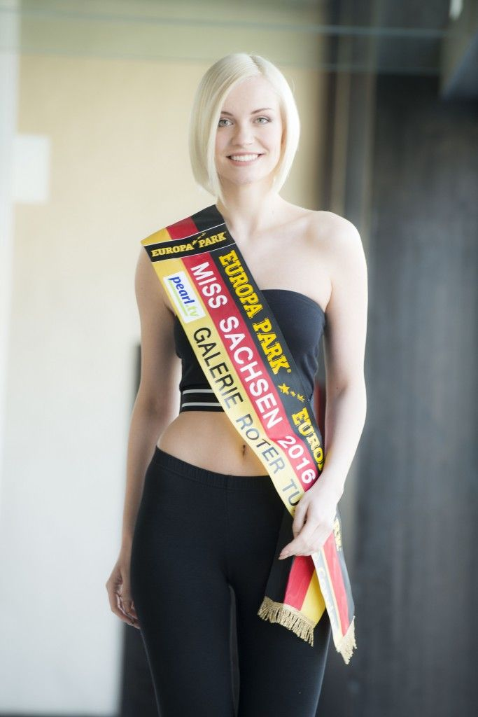 Farina Behm - Miss Sachsen 2016 She was in the Top 8 of