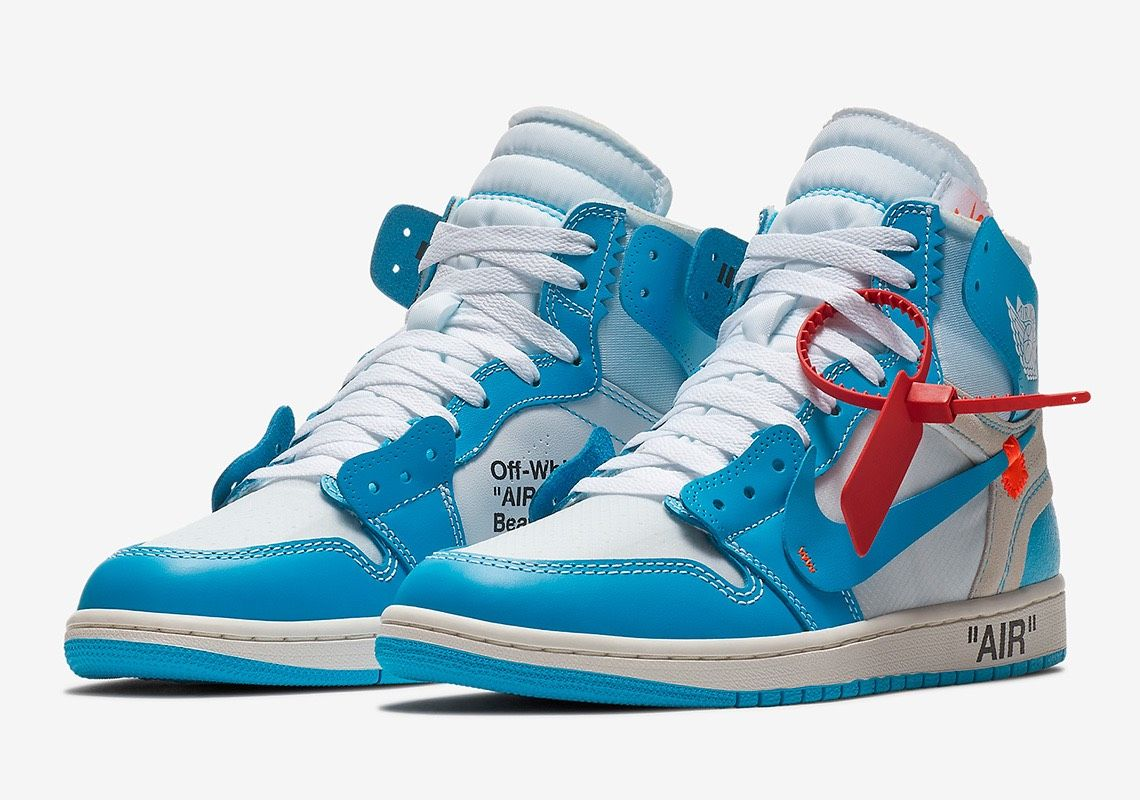Win A Pair Of Jordan 1 X Off White Unc For Free Guys Hype Hypebeast Off White Jordans Giveaway Air Jordans Sneakers Sneakers Men Fashion
