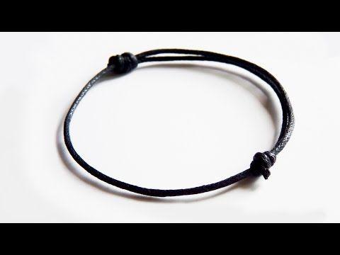 a386f78e5ea7 Nudo corredizo para pulseras y gargantillas, cómo hacer - YouTube ...