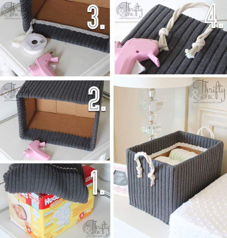 54 Clever Things with Old Clothes You Can Do Instead Of Throwing Them is part of Diy storage boxes - Don't throw away your old tshirts, skirts, and jeans when you can do so many clever things with old clothes  Not sure how  Have a look