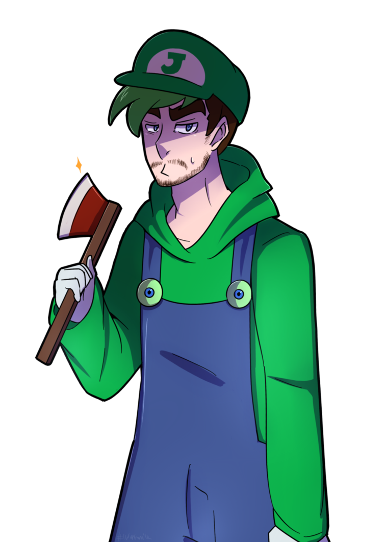 what do you call a plumber who chops wood? by DatWeirdoWhoLuvsMilk on DeviantArt